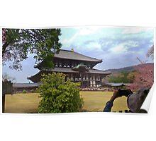 Tōdai-ji temple Poster