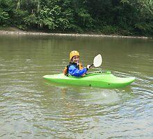 Teen Kayaking by rhamm