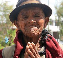 Beggar in a Park by rhamm
