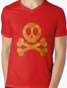 Poison Skull and Cross Bones ( GOLD ) T-Shirt