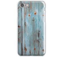 Blue Wood iPhone Case/Skin