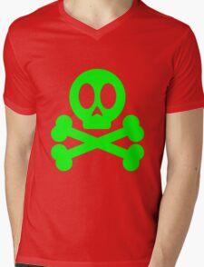 Poison Skull and Cross Bones ( Green ) T-Shirt