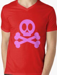 Poison Skull and Cross Bones ( Pink ) T-Shirt