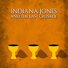 Indiana Jones - Last Crusade Minimal by Stevie B
