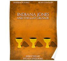 Indiana Jones - Last Crusade Minimal Poster