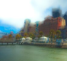 Water Front by Rick Gustafson