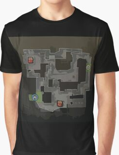 CSGO Mirage Map Graphic T-Shirt