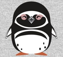 Cute: Magellanic Penguin One Piece - Long Sleeve