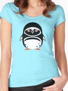 Cute: Magellanic Penguin Women's Fitted Scoop T-Shirt
