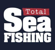 Total Sea Fishing logo (white) by dhpublishing