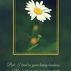 I Trust in Your Loving Kindness - Card by Tracy Friesen