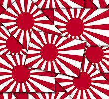 Smartphone Case - Flag of Japan (Ensign) Multiple II by Mark Podger