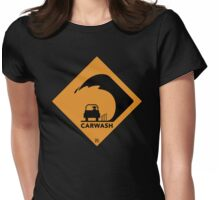 Carwash ( yellow ) Womens Fitted T-Shirt