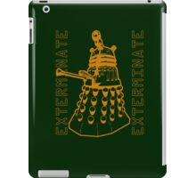 Exterminate Classic Doctor Who Dalek Graphic iPad Case/Skin