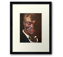 Beautifully Scarred Framed Print