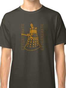 Exterminate Classic Doctor Who Dalek Graphic Classic T-Shirt