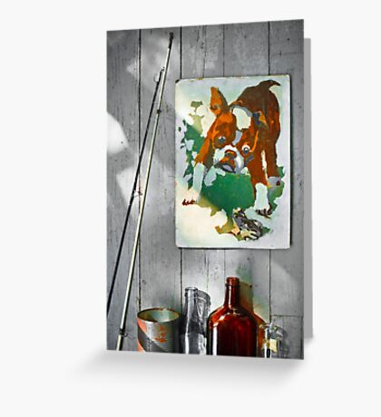 Paint by Numbers Greeting Card