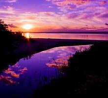 Deep Creek Sunset - Grantville Victoria by Chris Kean