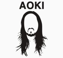 Steve Aoki (with text) by powerlee