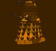 Funky Camo Sneaky Dalek by astralsid