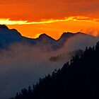 Sunset on Tantalus by Marcel Pepin