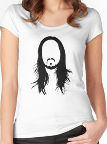 Steve Aoki Women's Fitted Scoop T-Shirt
