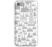 Background the industry3 iPhone Case/Skin