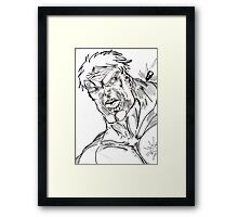Incredible Hulk Framed Print