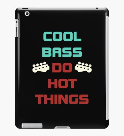 Cool Bass iPad Case/Skin