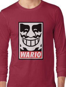Obey Wario Long Sleeve T-Shirt