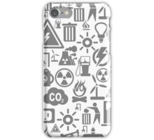 Background the industry5 iPhone Case/Skin