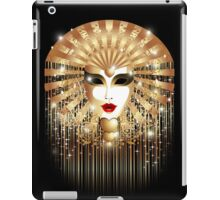 Golden Venice Carnival Mask  iPad Case/Skin