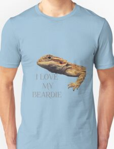 i LOVE MY BEARDIE Unisex T-Shirt