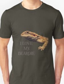 i LOVE MY BEARDIE T-Shirt