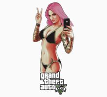 GTA5 - suicide girl by kazkami
