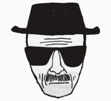 Heisenberg's face by powerlee