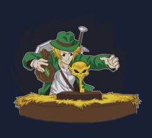 Raiders of the Lost Ocarina  by coinbox tees