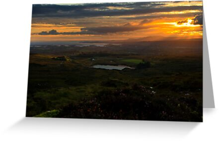 Slopes Of Croaghnameal by Adrian McGlynn