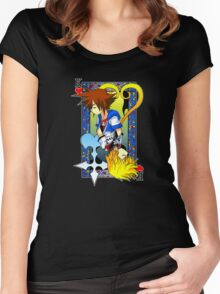 King of the Hearts Women's Fitted Scoop T-Shirt