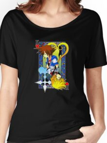 King of the Hearts Women's Relaxed Fit T-Shirt