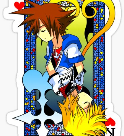 King of the Hearts Sticker