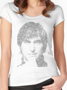 Steve Jobs  Women's Fitted Scoop T-Shirt
