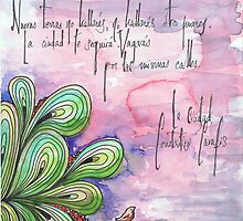 Illustrated quote (Spanish), Cavafis by misscristal