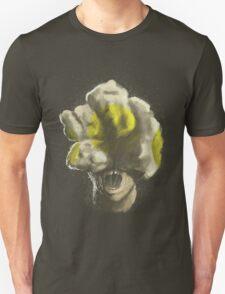 Mushroom Kingdom clicker [Yellow] - Mario / The Last of Us T-Shirt