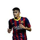 Neymar by halamadrid
