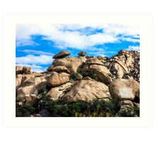 The View From My Car In Arizona 3 Art Print