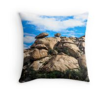 The View From My Car In Arizona 3 Throw Pillow