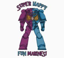 SUPER FUN MARINES. by herbertron