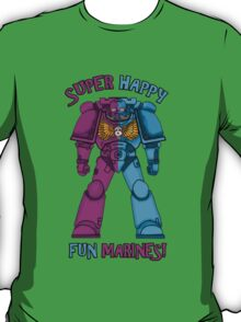 SUPER FUN MARINES. T-Shirt