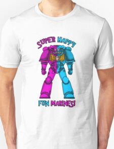 SUPER FUN MARINES. Unisex T-Shirt